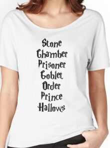 Harry Potter Books Women's Relaxed Fit T-Shirt