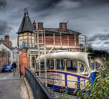 Cliff Railway - Bridgnorth, England by Ann Garrett