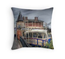 Cliff Railway - Bridgnorth, England Throw Pillow