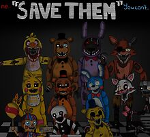 "Five Nights at Freddy's ""Save Them"" by Mistfan"