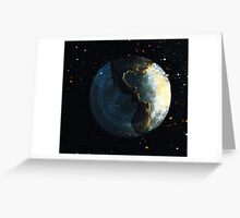 Hubble Double Greeting Card