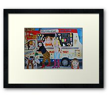 ice cream @ Greenwich park Framed Print