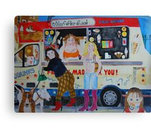 ice cream @ Greenwich park Canvas Print