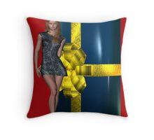 HappyBirthday Ozjami Throw Pillow