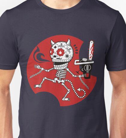 Skeletons Infernal Massacre Unisex T-Shirt