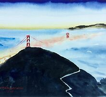 Golden Gate Bridge, San Francisco by redpaint