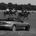 "Shall I take the Aston to Polo Practice "" um Yes Please "" by Daniel  Oyvetsky"