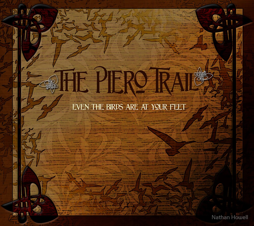 Cd cover for The Piero Trail by Nathan Howell