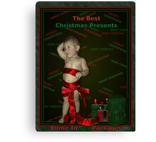 The Christmas Present Canvas Print