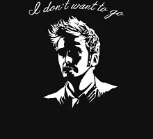 Tenth Doctor - I don't want to go T-Shirt