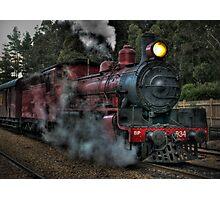 Engine No. 934, Zig Zag Railway Photographic Print