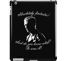 Ninth Doctor - Fantastic iPad Case/Skin