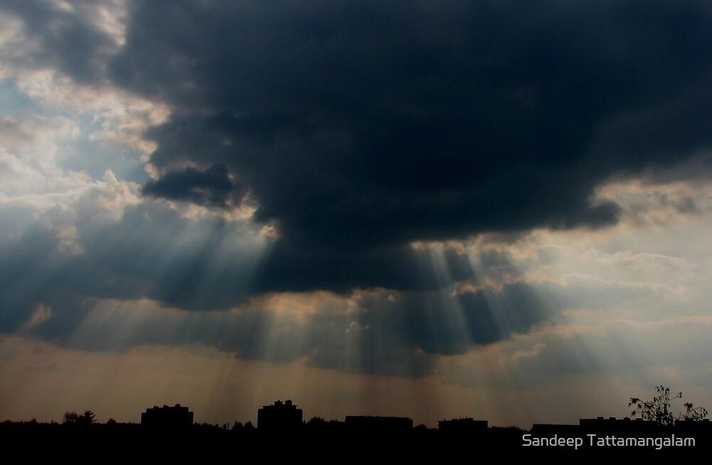 Rays of Hope... by Sandeep Tattamangalam