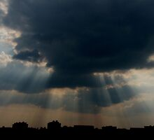 Rays of Hope... by Sandeep Tattamangalam