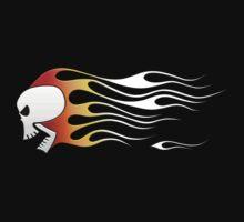 Flaming Skull by jbensch