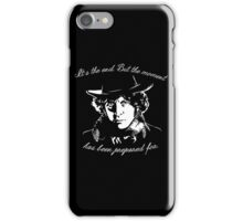 It's The End - 4th Doctor Regeneration Tee iPhone Case/Skin
