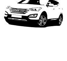 Hyundai Santa Fe 2013 by garts