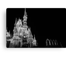 Walt Disney World Cinderella's Castle Dream Lights Canvas Print