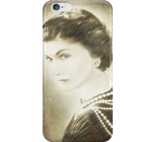 The Icon of Elegance  iPhone Case/Skin