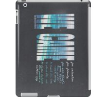 Salvation Song iPad Case/Skin