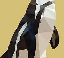 African Penguin Polygon by Edwin Enciso