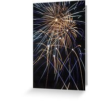 exeter fireworks Greeting Card