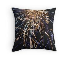 exeter fireworks Throw Pillow
