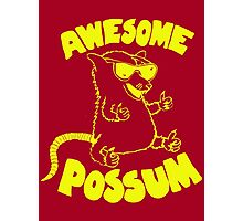 Awesome Possum Photographic Print