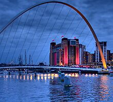 The Baltic, Gateshead, England by Ann Garrett