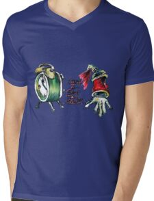 Time 4 Some Action Mens V-Neck T-Shirt