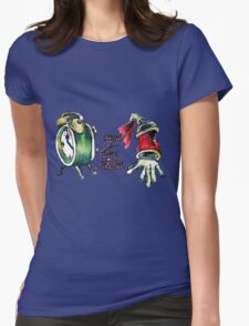 Time 4 Some Action Womens Fitted T-Shirt