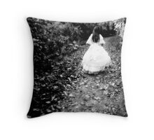 Child of Autumn Throw Pillow