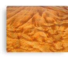 Sand Pattern Canvas Print