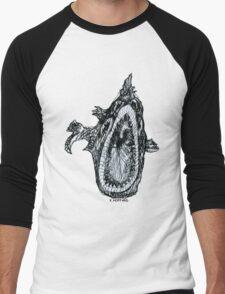 Bio Hazard Fish Men's Baseball ¾ T-Shirt