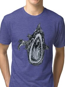 Bio Hazard Fish Tri-blend T-Shirt