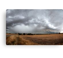 The Storm Front Canvas Print