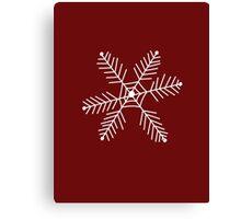 Snowflake 3 Canvas Print