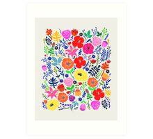 Secret Flower Garden Art Print