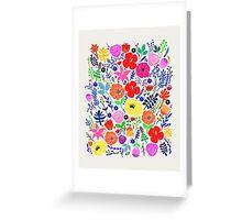 Secret Flower Garden Greeting Card