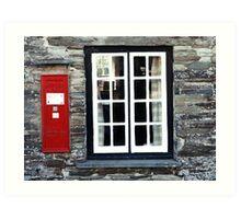 Tintagel Old Post Office Art Print