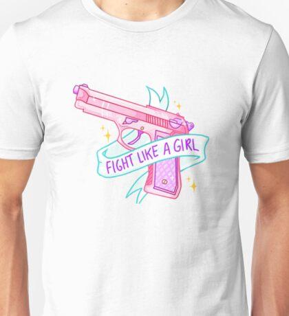 Fight Like a Girl - feminist, feminism Unisex T-Shirt