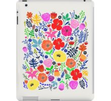 Secret Flower Garden iPad Case/Skin