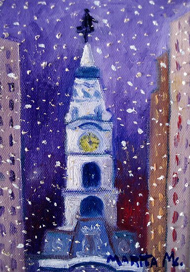 Winter In Philly by Marita McVeigh