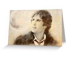 Josh Groban on a Cold Day Greeting Card