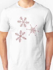 3 Snowflakes Option 3 T-Shirt