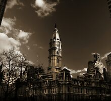 city hall, philadelphia by hsair