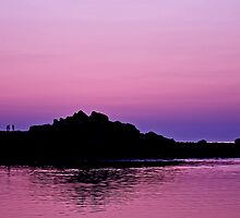 Seawall Sunset by Alyeska