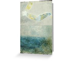 Angel over the Bay Greeting Card