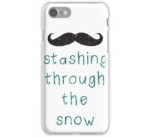 Stashing Through The Snow iPhone Case/Skin