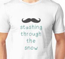 Stashing Through The Snow Unisex T-Shirt